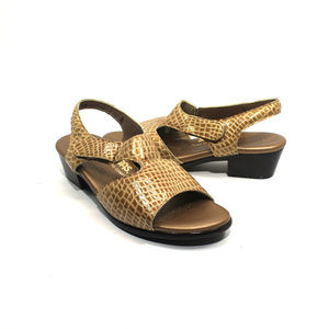 SAS Suntimer Leather Sandals Size 8.5M
